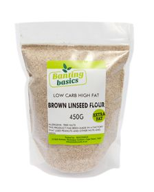 Banting Basics - Brown Linseed Flour - 450g