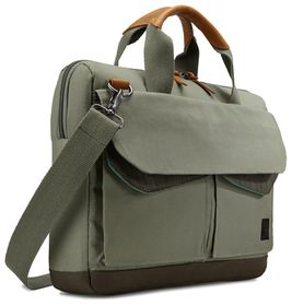"Case Logic Lodo Laptop Attache Petrol Green - 14"" laptop"