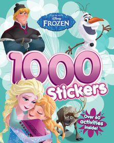 Disney Frozen 1000 Sticker & Activity Book