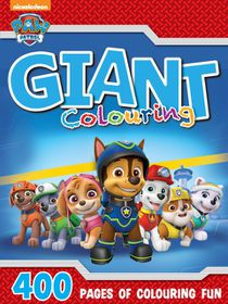 Paw Patrol 400 Page Giant Colouring Book