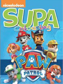 Paw Patrol 200 Page Supa Colour & Activity Book