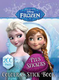Disney Frozen 200 Page Colour & Stick Book