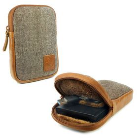 Tuff-Luv Herringbone Tweed Hard Drive Case - Tweed