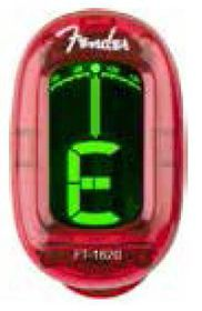 Fender FT-1620 California Guitar Tuner Red