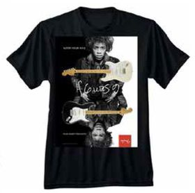 Fender Jimi Hendrix Collection Alter Your Axis T-Shirt M