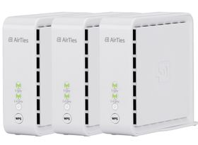 AirTies 4920 AC1600 Home Triple Pack Wi-Fi Kit