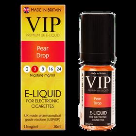 VIP E-Cigarettes 10ml Pear Drop - 3mg