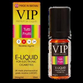 VIP E-Cigarettes 10ml Tutti Frutti - 8mg