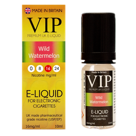 VIP E-Cigarettes 10ml Wild Watermelon - 16mg
