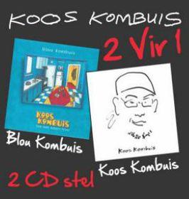 Koos Kombuis - 2 Vir 1 (CD)