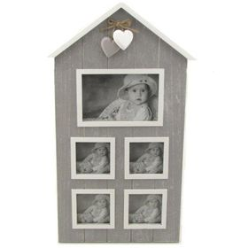 Pamper Hamper - House Photo Frame - Grey
