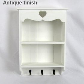 Pamper Hamper - Wooden Wall Cabinet - White