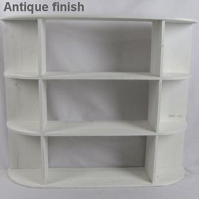 Pamper Hamper - Wooden Shelf - White