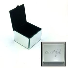 Pamper Hamper - Beautiful Small Jewellery Box- Silver