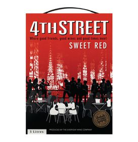 4th Street - Natural Sweet Red - 3 Litre