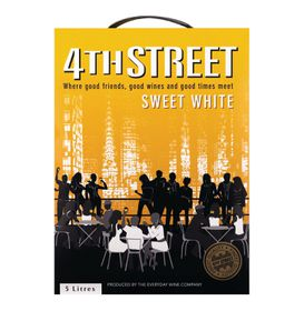 4th Street - Natural Sweet White - 5 Litre