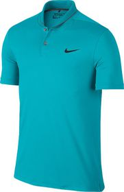 Mens Nike Transition Heather Polo - Turquoise