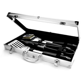 Eetrite - BBQ Tool Set In Aluminium Case - 4 Piece