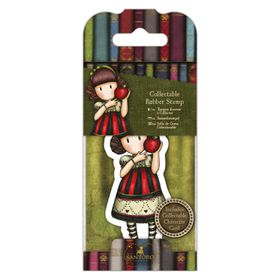 Docrafts Gorjuss Rubber Stamp - No.37 Dear Apple