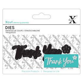 Xcut Mini Dies Sentiment - Thank You