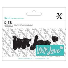 Xcut Mini Dies Sentiment - With Love