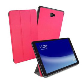 "Tuff-Luv Smart Cover and Stand for Samsung Galaxy Tab A 10.1"" - Pink"
