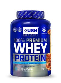 USN 100% Premium Whey Cinnamon Caramel Donut - 2kg