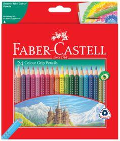 Faber-Castell Colour Grip Pencils (Box of 24)