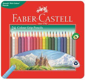 Faber-Castell Colour Grip Pencils (Tin of 24)