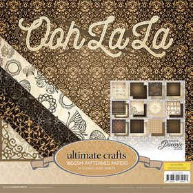 Ultimate Crafts Ooh La La 12x12 Paper Pad