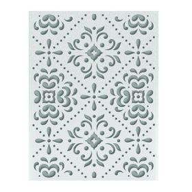 Ultimate Crafts Ooh La La Embossing Folder A2 - Juniper Pattern