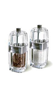 Cole & Mason - Precision Seville Acrylic & Chrome Salt & Pepper Mill - Gift Set - 14cm