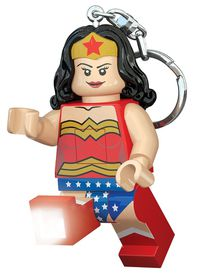 IQ LEGO Super Heroes - Wonder Woman Key Chain Light