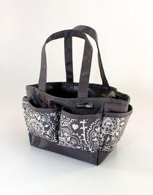 Spoilt Rotten Small Bag - Doodle Delight - Silver