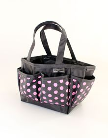 Spoilt Rotten Small Bag - Pretty Polka Dots - Pink