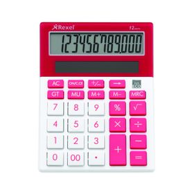 Rexel Joy Series Calculator - Pink