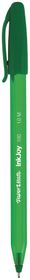 Paper Mate Inkjoy 100 Capped Ballpoint Pen - Green