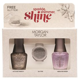 Morgan Taylor Sparkle Shimmer Shine - DUO