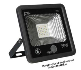 Ellies - 30 Watt LED - Flood Light - Black