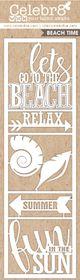 Celebr8 SANDsational Lanki Card - Beach Time
