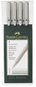 Faber-Castell Ecco Pigment 4 Drawing & Sketching Pens