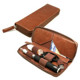 Tuff Luv E - Cig Vape Pen Luxury Leather Travel Case