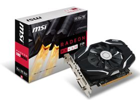 MSI Radeon RX 460 X Gaming Graphics Card - 2GB