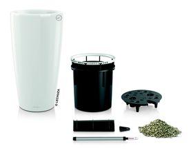 Lechuza - Rondo Premium 40 - White Glossy