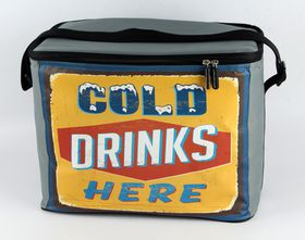 Leisure-quip - 30 Can Retro Soft Cooler Bag - Open 24/7