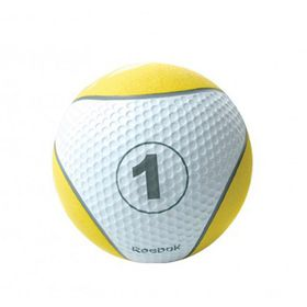 Reebok Studio 1kg Medicine Ball - Yellow