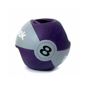 Reebok Studio Double Grip 8kg Medicine Ball - Purple