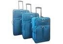 Voss 3 Piece Luggage Set - Teal