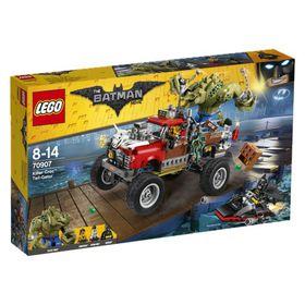 The LEGO® Batman Movie: Killer Croc™ Tail-Gator 70907