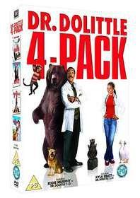Dr Dolittle Quad Pack 1 - 4 (DVD)